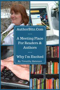 AuthorBitz.Com - A Meeting Place For Readers & Authors - Why I'm Excited